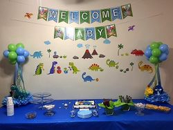 Baby Shower Wall