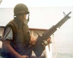 Guardsman on a M-60 Machine Gun: