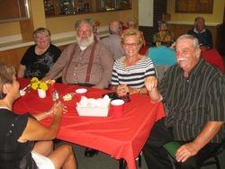 Betty and Keith Wheaton, David and Linda Tripp. NB
