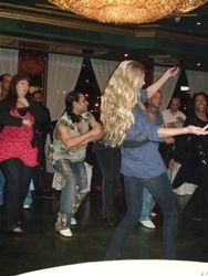Ines, dancing at Nile Maxim