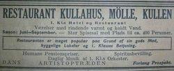 Hotell Lindstrom (Kullahus) 1939