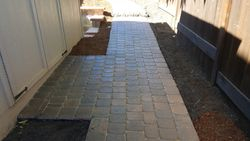 Forest Grove Pavers Walkway