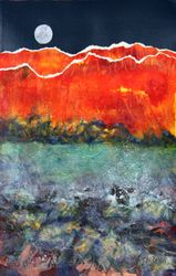 Moon Rise  SOLD
