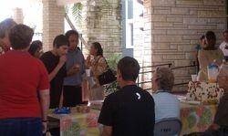 Courtyard on September 11, 2011
