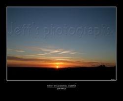 Sunset, Lancashire, England 1