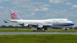 China Airlines Boeing 747-400 B-18251