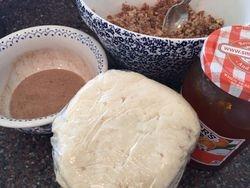 Rugelach Ingredients