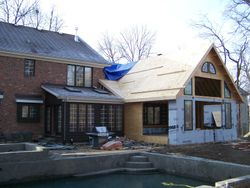A large addition and home remodel