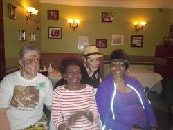 Barbara (MA) Frances (NY) Patricia (NY) and Angeline (MA)