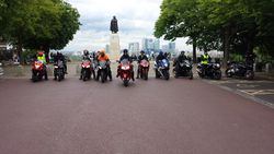 Back at Greenwich Park - Khalsa Riders Photo