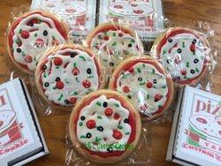 Mini Pizza Cookies