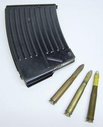 20mm flak gun magazine and shell mix: