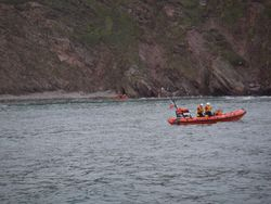 Rescue of 7 children from Whitsand Bay