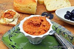 Spicy Hot Olive & Almond Romesco