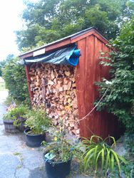 firewood shed 1
