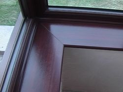 Mahogany Window Board
