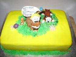 Cake 15A1- Calvin & Hobbes