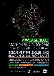 2009.11.06 - Absys Launch 2 - ASC @ Crawdaddy - Dublin