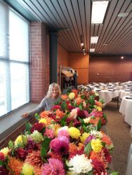 Dahlias for Jere' Zender's Wedding