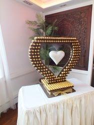 Wedding package birmingham ferrero rocher heart by Sweet Candy Dreads