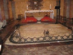 Piedra donde Jesus estuvo orando en Getsemani
