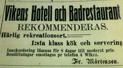 Vikens hotell 1913