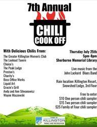 7th Annual Chili Cook-Off!