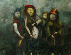 Andean musicians