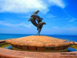 Dolphin Fountain on Malecon