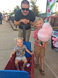 Cotton Candy with Daddy!