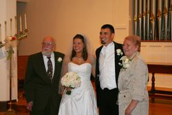 Grandparents with the couple