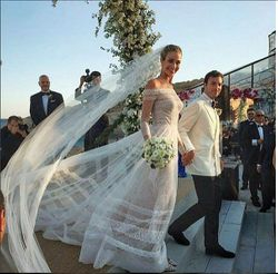 It's a Fairy Tale! Mykonos, July 9,after the wedding ceremony l
