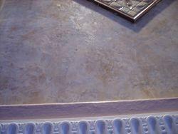 close-up of venitian plaster