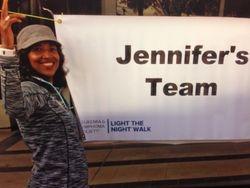Jennifer's Team Banner