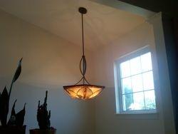 Foyer light installation