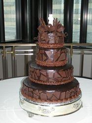 Chocolate Lovers TUXEDO CAKE
