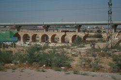 The bridge leading into Beersheba, from WW1