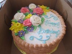 Basket Floral Birthday