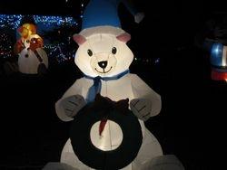 a Christmas Bear