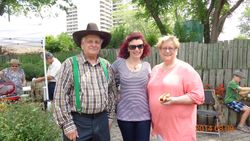 Sharon Blady, MLA, Nancy and Ken