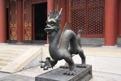 Dragon at Summer Palace near Beijing