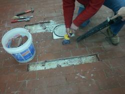 Grout and Tile Removal
