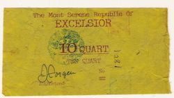 EARLY BANKNOTE