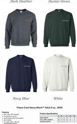 Sweatshirts, Crewneck | 50/50 Heavy Blend | Silk-Screen Logo