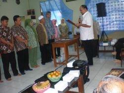Pelantikan Pengurus Persadia Unit Citayam oleh Ketua Persadia Cabang Depok