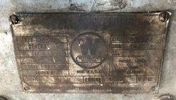 Welder Data Plate 2