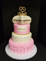 Princess Cake with Pillow Top