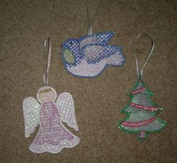 Sues Mylar Ornaments