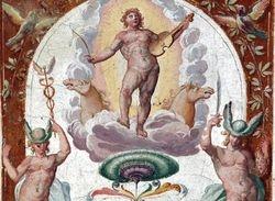 Triumph of Apollo, Villa Lante, Bagnaia, 1570s