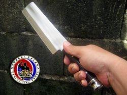 Marco Espino's Custom Cleaver Knife